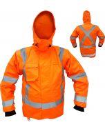 Caution StormPro TTMC-W17 X-Back Zip-off Sleeve Fleece Lined Vest