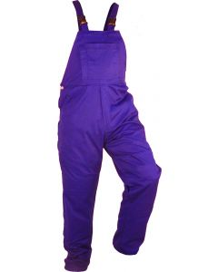 Caution Poly Cotton Bib Overall - Royal