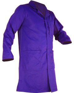 Caution Poly Cotton Dustcoat - Royal