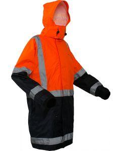 Caution StormPro D/N Jacket - Orange/Navy