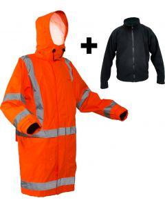 Caution StormPro TTMC-W17 X-Back Fleece Lined Jacket