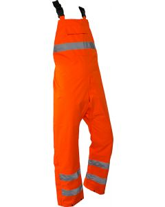 Caution StormPro Bib Over Trouser - Orange