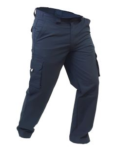 Caution Polycotton Ripstop Cargo Trousers - Navy