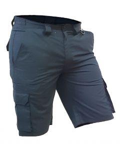 Caution Polycotton Ripstop Cargo Shorts - Navy
