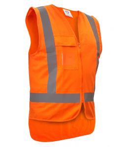Caution TTMC-W17 Safety Vest