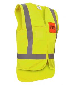 Caution STMS Safety Vest