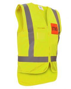 Caution STMS Safety Vest