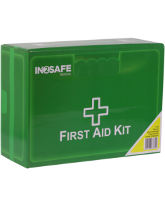 IN2SAFE 1-25 Person First Aid Kit - Plastic Box